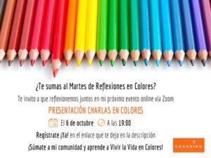 Martes de Reflexiones en Colores 6 de Octubre