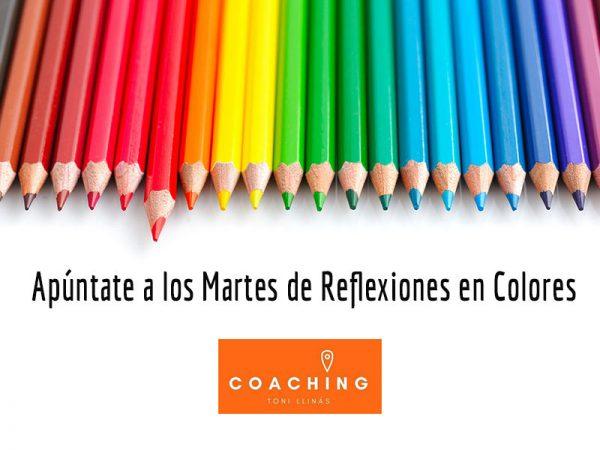 Eventos Martes de Reflexiones en Colores