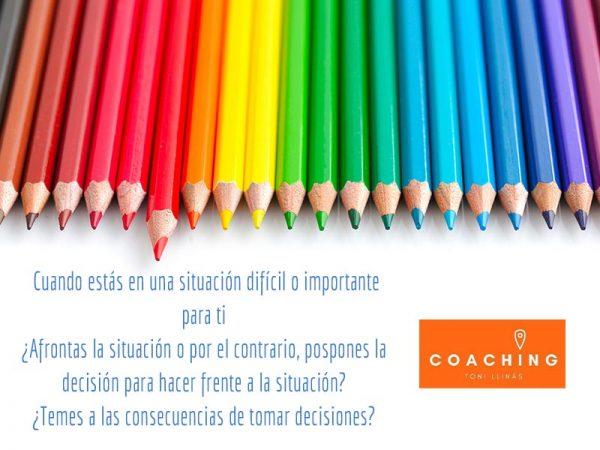 Reflexiones en Colores: ¿Afrontas las decisiones o las pospones?