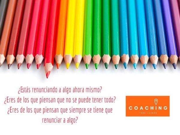 Reflexiones en Colores: ¿A qué renuncias?